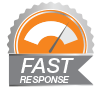 Your appointment request will be responded to fast.